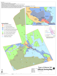 Warner Zoning Map