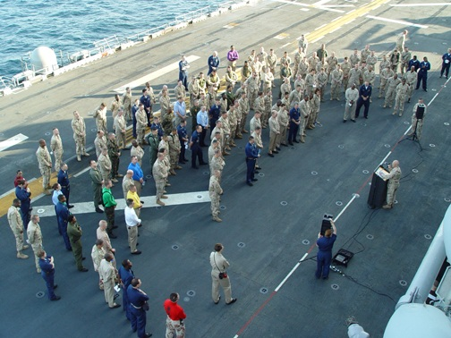 USS Kearsarge 2003 Deployment Photos